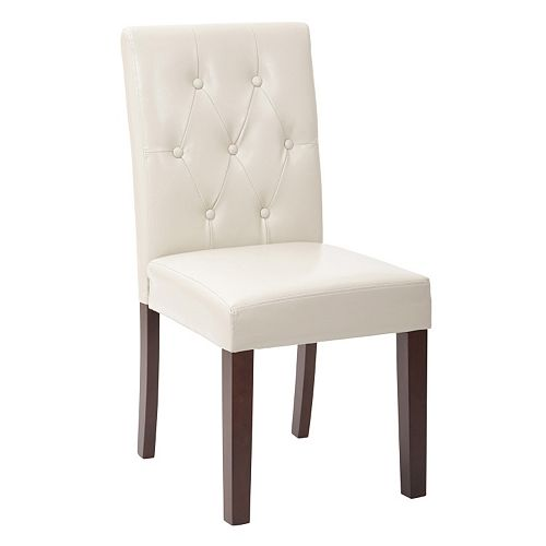 OSP Designs Button-Tufted Dining Chair