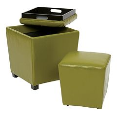 OSP Designs Ottoman 2 pc Set