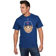 Men's Majestic Chicago Cubs Anthony Rizzo Player Face Tee