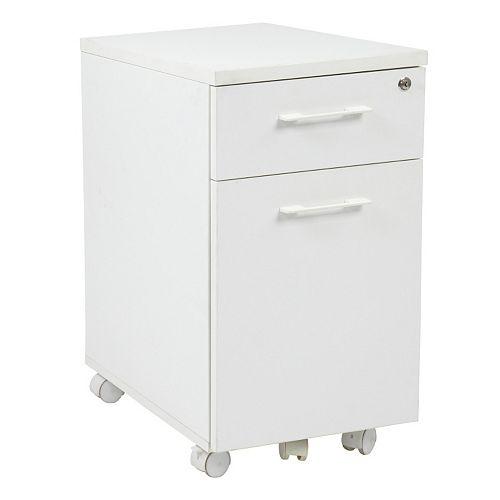 OSP Designs Prado Mobile File Cabinet