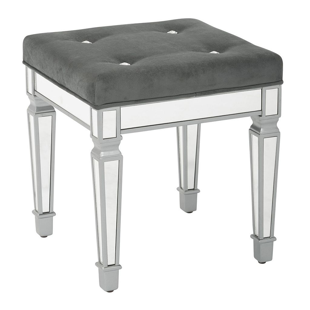 Ave Six Reflections Mirrored Stool