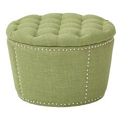 Ave Six Lacey Tufted Nesting Ottoman 2-piece Set