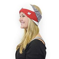 Women's ZooZatz Wisconsin Badgers Criss-Cross Headband