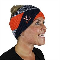 Women's ZooZatz Virginia Cavaliers Criss-Cross Headband