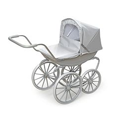 Badger Basket Gray London Doll Pram