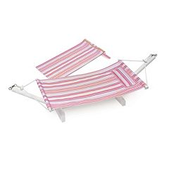 Badger Basket Portable Doll Hammock with Travel Bag Set