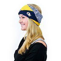Women's ZooZatz Georgia Tech Yellow Jackets Criss-Cross Headband