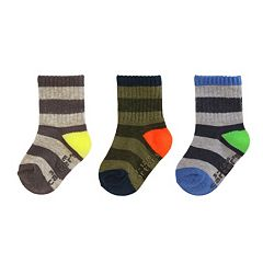 Baby / Toddler Boy Carter's 3 pkCrew Socks