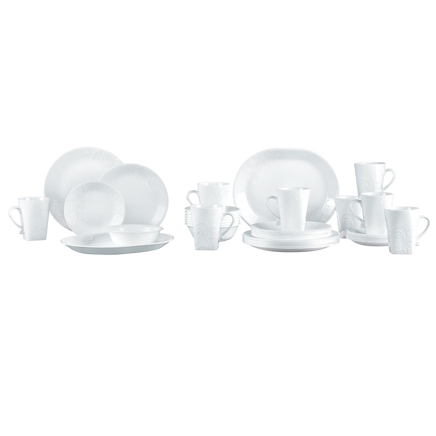 sc 1 st  Kohlu0027s & Corelle Boutique Cherish 42-pc. Dinnerware Set