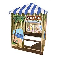 Badger Basket Beach Bum Covered Cabana Sandbox & Playhouse
