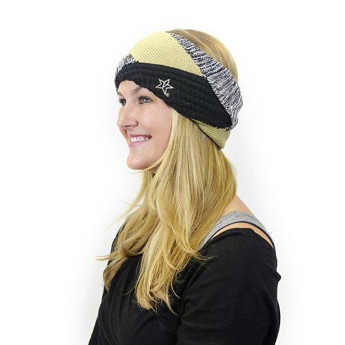 Women's ZooZatz Vanderbilt Commodores Criss-Cross Headband