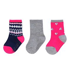 Baby / Toddler Girl Carters 3 pkCrew Socks