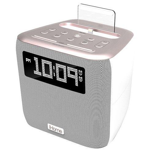 iHome iPL24 Dual Charging Dock & Clock Radio