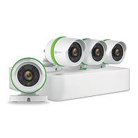 EZVIZ 4-Channel 4-Camera DVR Surveillance System