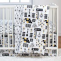 Poppi Living Tribal 3 pc Crib Bedding Set