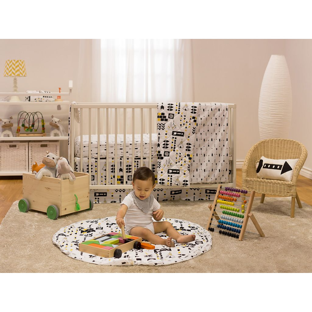 Poppi Living Tribal 3-pc. Crib Bedding Set