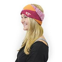 Women's ZooZatz Virginia Tech Hokies Criss-Cross Headband