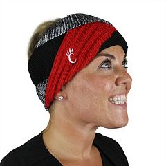 Women's ZooZatz Cincinnati Bearcats Criss-Cross Headband