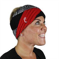 Women's ZooZatz Cincinnati Bearcats Criss-Cross Headband