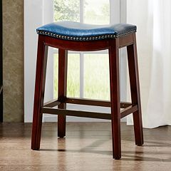 Madison Park Nomad 27' Saddle Counter Stool