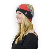 Women's ZooZatz Texas Tech Red Raiders Criss-Cross Headband