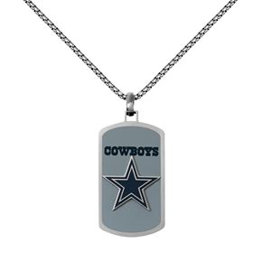 Mens stainless steel dallas cowboys dog tag necklace null mens stainless steel dallas cowboys dog tag necklace aloadofball Images