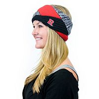 Women's ZooZatz Rutgers Scarlet Knights Criss-Cross Headband