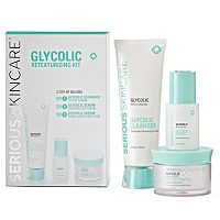 Serious Skincare Glycolic Retexturizing Kit