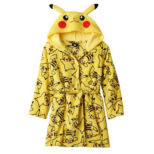 cheap 60% cheap classic styles Boys 6-12 Pokemon Pikachu Robe