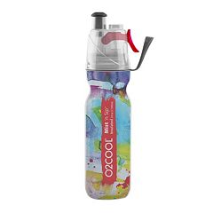 O2COOL® ArcticSqueeze® Mist 'N Sip® 20-oz. Insulated Watercolor Three Squeeze Water Bottle