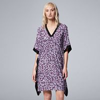 Women's Simply Vera Vera Wang Pajamas: Saturday Slumber Caftan