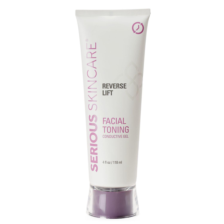 Facial conductive gel
