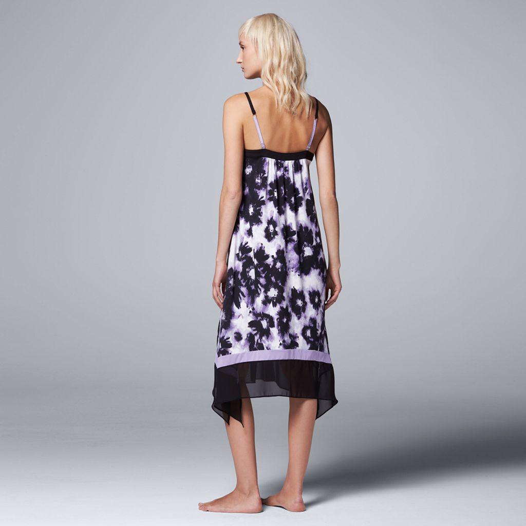 Women's Simply Vera Vera Wang Pajamas: Saturday Slumber Chemise