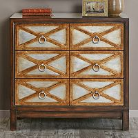 Madison Park Anaya X Two-Tone Accent Chest