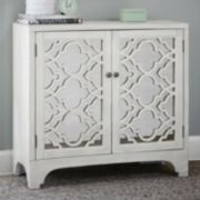 Madison Park Nevaeh Lattice Mirror Accent Chest