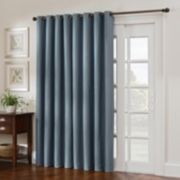 Style Domain Antique Satin Patio Door Curtain