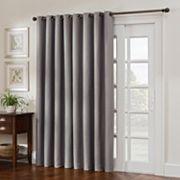 Style Domain Antique Satin Patio Door Curtain