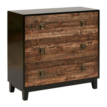 Madison Park Gale Chattered Two-Tone Accent Chest