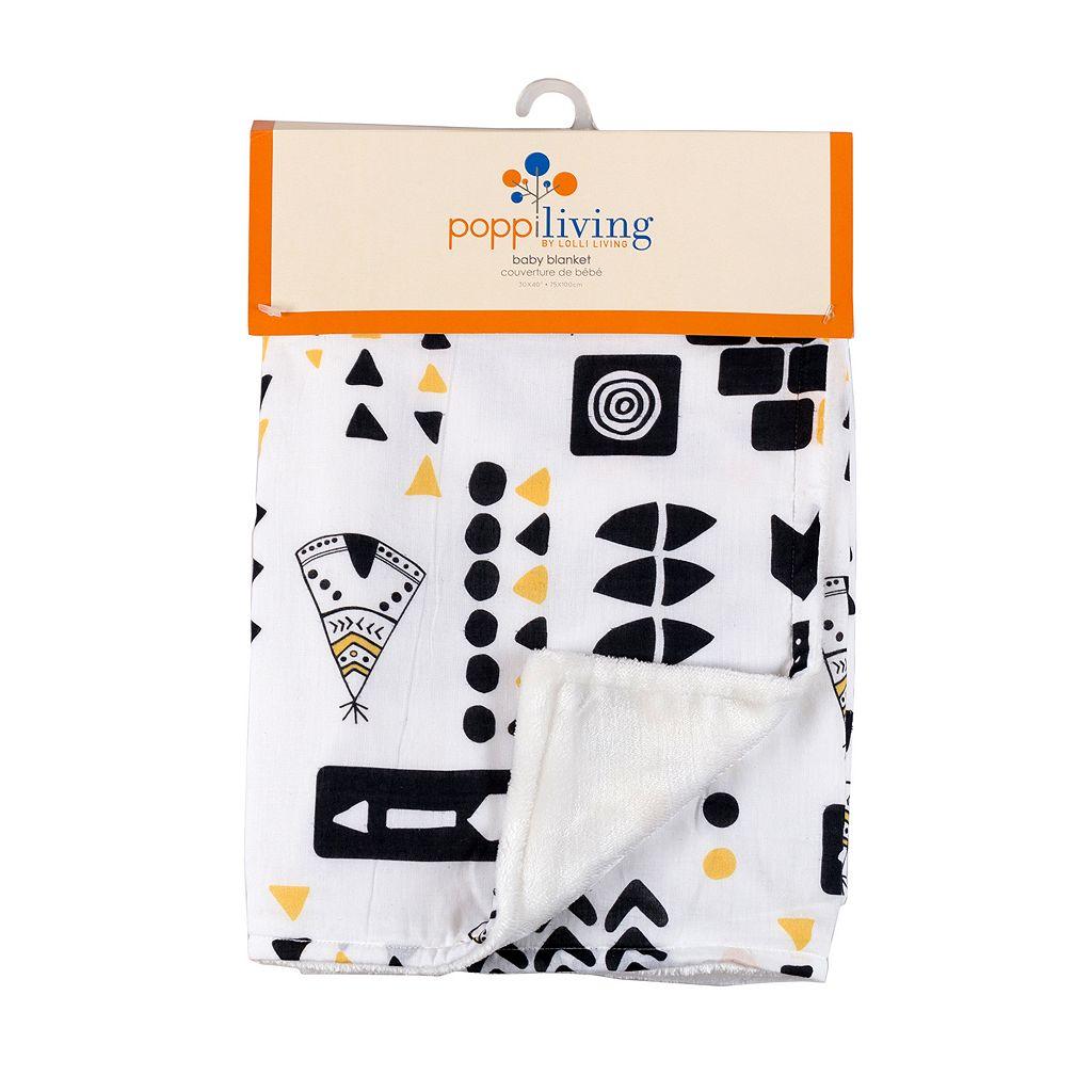 Poppi Living Tribal Stroller Blanket
