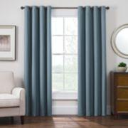 Style Domain 1-Panel Antique Satin Window Curtain
