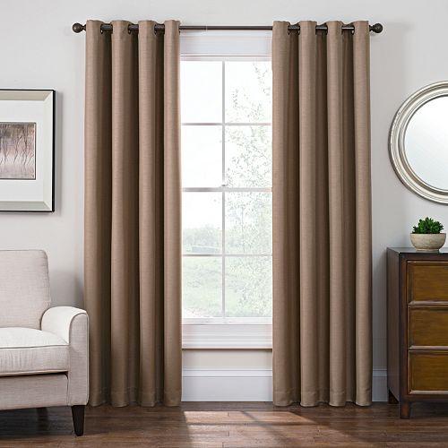 Style Domain Antique Satin Window Curtain