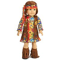 60's Hippie with Fringe 18-in. Doll Clothes