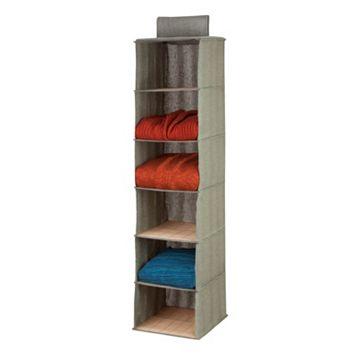 Honey-Can-Do 6 Shelf Hanging Organizer