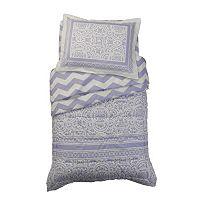 KidKraft Lace & Chevron Toddler Bedding Set