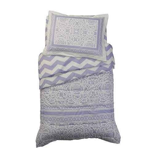 KidKraft Lace & Chevron Toddler Bedding Set
