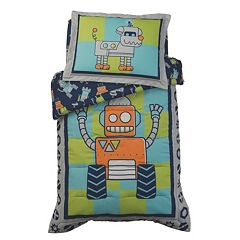 KidKraft Robot Toddler Bedding Set