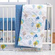 Poppi Living Timberland 3 pc Crib Bedding Set