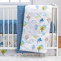 Poppi Living Timberland 3 pc Crib Bedding Set