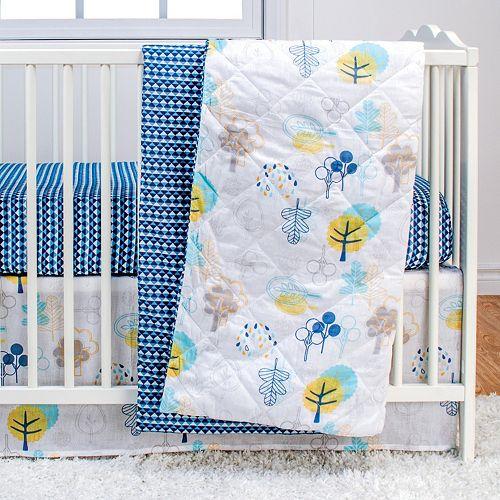 Poppi Living Timberland 3-pc. Crib Bedding Set