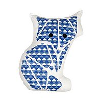 Poppi Living Timberland Geometric Fox Decorative Pillow
